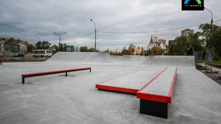 реутов скейт парк