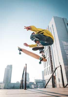 научиться трюки скейт