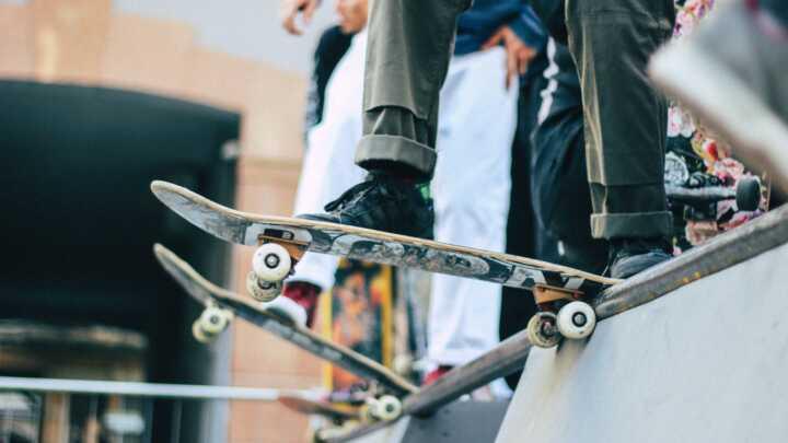 Скейт уроки