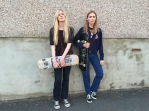 девушки скейтерам
