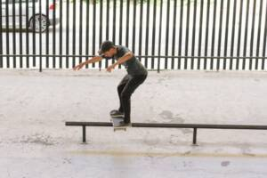 перила скейтборд двор