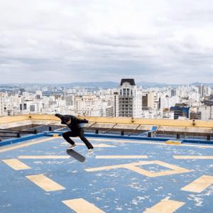 крыша флэт площадка скейтбординг